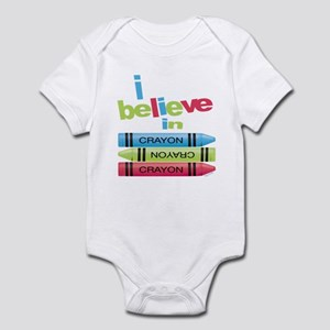 I believe in colors! Infant Bodysuit
