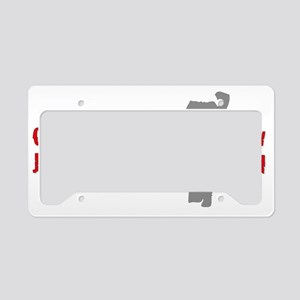 California you stay back now  License Plate Holder