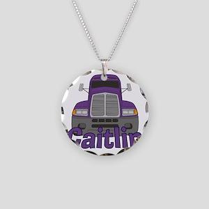 caitlin-g-trucker Necklace Circle Charm