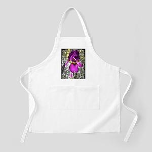 Grape Iris Apron