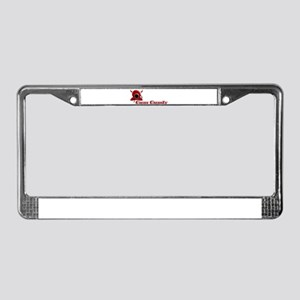 Cam Candy License Plate Frame