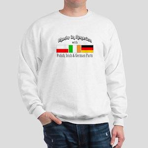Polish-Irish-German Sweatshirt