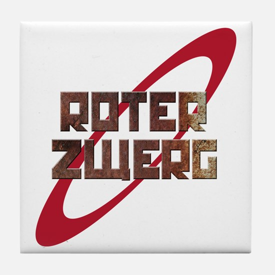 Roter Zwerg Mining Corporation Tile Coaster