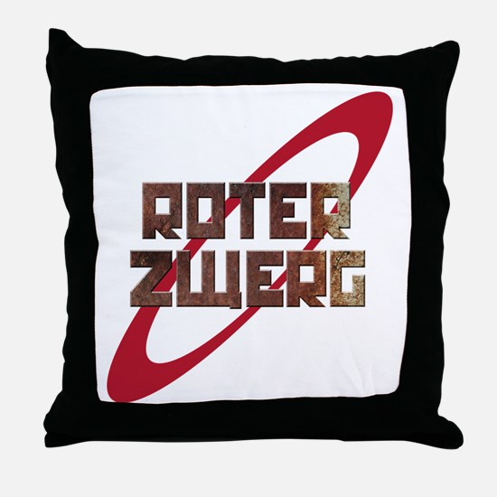 Roter Zwerg Mining Corporation Throw Pillow