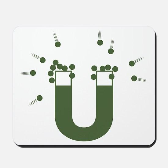 beeb magnet symbol - OD Mousepad