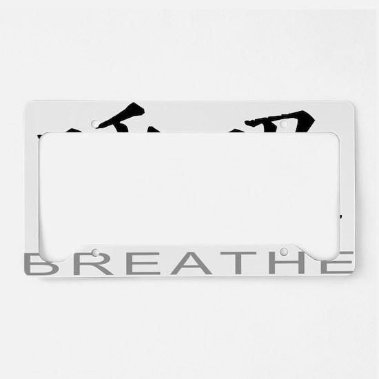 BreatheLight License Plate Holder