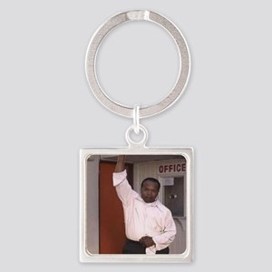 Derrick T.Tuggle Lonely Boy 3 Square Keychain
