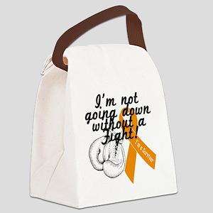 survivor fight leukemia Canvas Lunch Bag