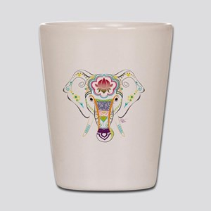 Jewel Elephant Shot Glass