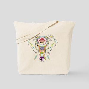Jewel Elephant Tote Bag