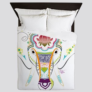 Jewel Elephant Queen Duvet