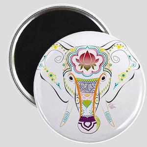 Jewel Elephant Magnet