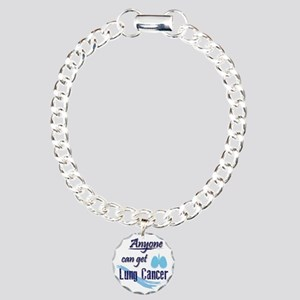 ANYONE can get Lung Canc Charm Bracelet, One Charm