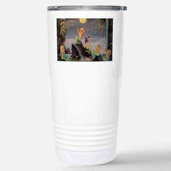 Mermaid Lagoon Stainless Steel Travel Mug