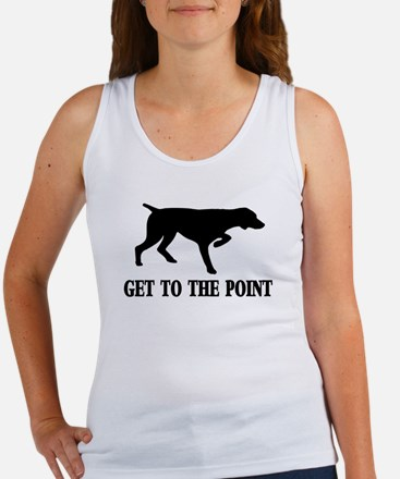 GET TO THE POINT Men''s Tank Top