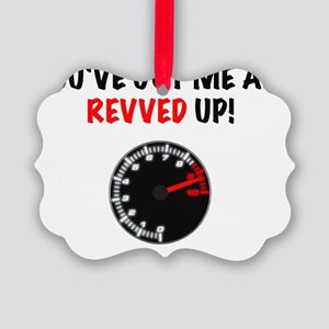 Revved Up! Picture Ornament