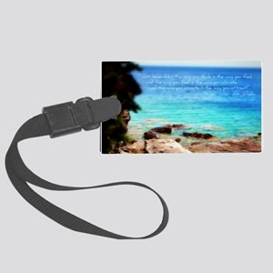 Law of Attration - Vibration Large Luggage Tag