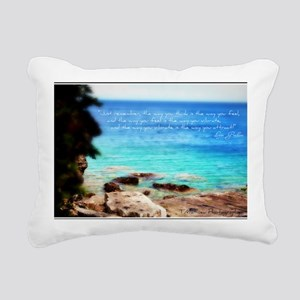 Law of Attration - Vibra Rectangular Canvas Pillow
