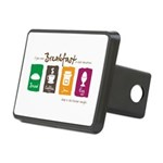 Breakfast in bed Rectangular Hitch Cover