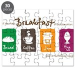 Breakfast in bed Puzzle