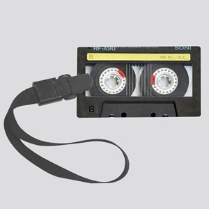 Cassette pillow case Large Luggage Tag