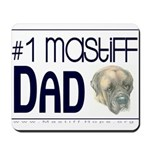 #1 Mastiff Dad Mousepad