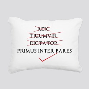 Its all in the phrasing. Rectangular Canvas Pillow