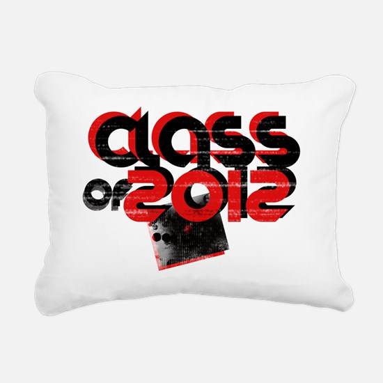 class of 2012 Rectangular Canvas Pillow