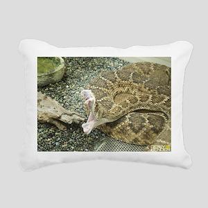 The Bite Rectangular Canvas Pillow