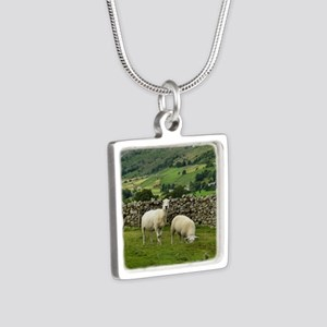 In the Moors Silver Square Necklace