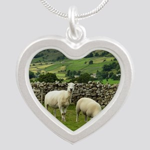 In the Moors Silver Heart Necklace