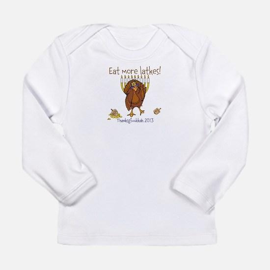 Eat more latkes Long Sleeve T-Shirt
