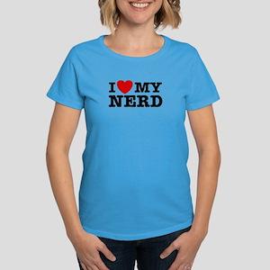 I love My Nerd Women's Dark T-Shirt