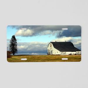 PT Barn Aluminum License Plate