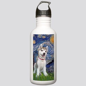 Starry (V)-Siberian pu Stainless Water Bottle 1.0L