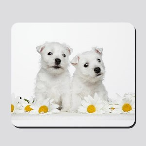 Westie Puppies Mousepad