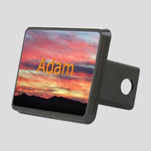 Personalized scenic puzzle Rectangular Hitch Cover