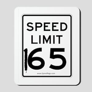 Speed Limit 165 Mousepad