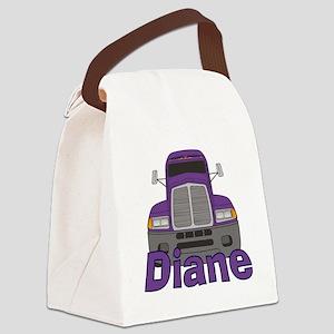 diane-g-trucker Canvas Lunch Bag