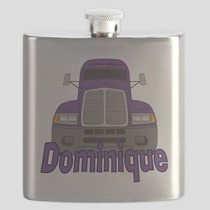 dominique-g-trucker Flask