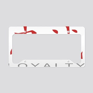 loyaltycolored License Plate Holder
