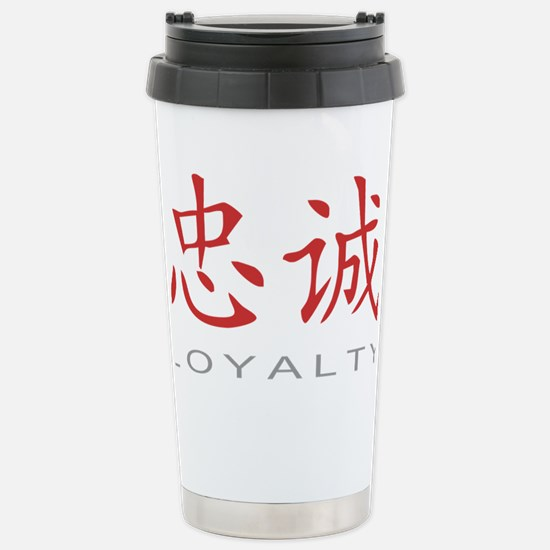 loyaltycolored Stainless Steel Travel Mug