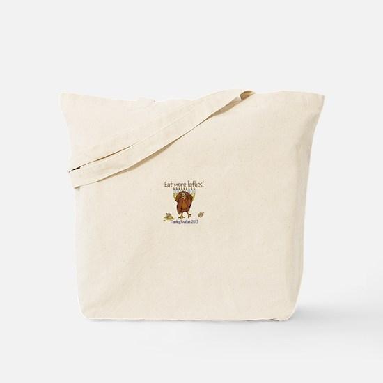 Eat more latkes Tote Bag