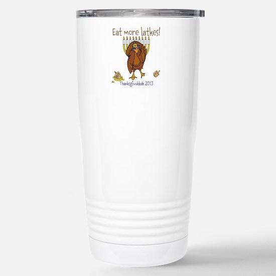 Eat more latkes Travel Mug