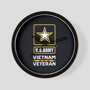 U.S. Army Vietnam Veteran Wall Clock