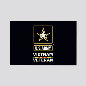 U.S. Army Vietnam Veteran Rectangle Magnet