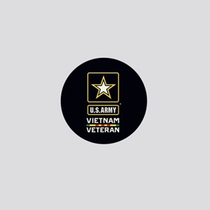 U.S. Army Vietnam Veteran Mini Button