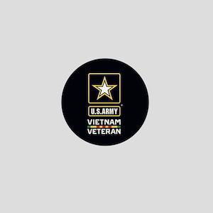 U.S. Army Vietnam Veteran Mini Button