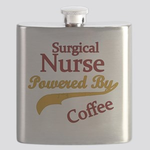 Surgical Nurse Powered By Coffee Flask