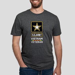 U.S. Army Vietnam Veteran Mens Tri-blend T-Shirt